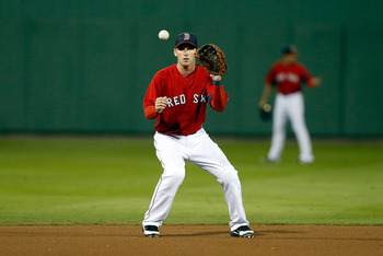 Stephen Drew's Red Sox debut has been delayed.