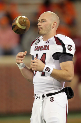 Connor Shaw is out after undergoing surgery on his left, so the Gamecocks may not be able to show the zone-read running offense.