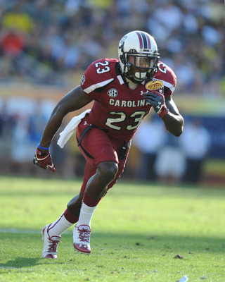 Bruce Ellington could be one of the team's top returners in the fall.