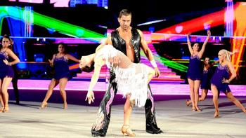 Fandango picked up a huge win over Chris Jericho on Sunday. Photo by: WWE