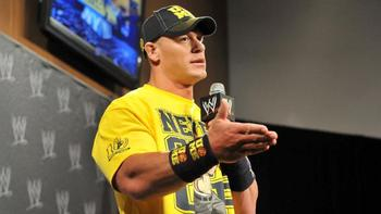 John Cena became an 11-time WWE champion on Sunday. Photo by: WWE