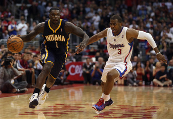 Lance Stephenson is a bundle of energy in his first tour of duty as a starter for the Indiana Pacers.