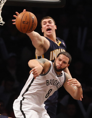 Tyler Hansbrough has stepped up for the Indiana Pacers when needed.