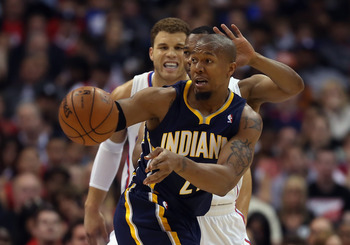 David West and the Indiana Pacers capped off an impressive four-game West Coast road trip sweep with a 109-106 win over the LA  Clippers on April 1.