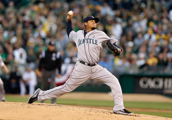 There may have been some concerns about Felix Hernandez after elbow issues held up his contract extension, but he put those to rest with one great game.