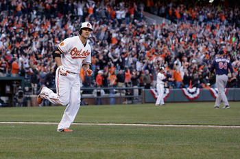 Chris Davis won't keep up this offensive pace all year, but he gave Baltimore a reason to celebrate in the first week.