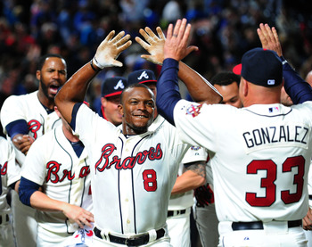 Justin Upton delivered a walk-off home run on April 6.