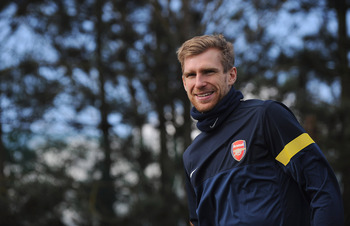 Arsenal have problems at the back, but Per Mertecacker isn't one of them.
