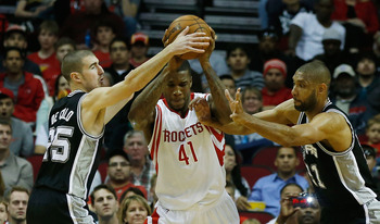 The Spurs have hounded the Rockets this season.