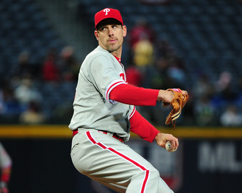 Stuck behind Cole Hamels and Roy Halladay to start the season, Cliff Lee was masterful against Atlanta.