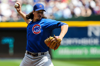 While still battling control issues, Jeff Samardzija has been a strikeout machine so far.