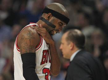 Rip's injury history with the Bulls hasn't been great, and this year was no different.