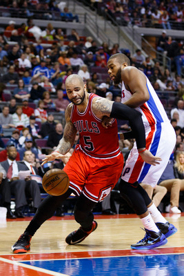 Carlos Boozer's performance during January got the Bulls back on the map.