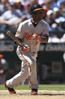 Xavier Avery has seen some time in the majors but struggled to hold a spot on the Orioles' 2012 roster.