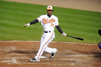 L.J. Hoes saw a brief stint with the Orioles in 2012.