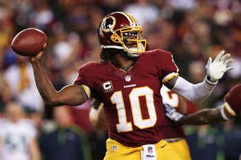Robert Griffin III has a long road ahead of him before he will be able to perform at the level he reached in 2012.