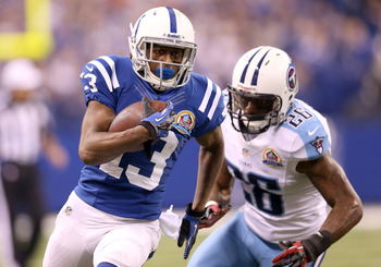 T.Y. Hilton surprised a lot of people in 2012. Look for him to drop off next season.