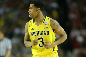 Sophomore guard Trey Burke is slated as a top pick in the 2013 NBA draft.
