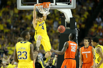 Freshman Mitch McGary could become the go-to guy for Michigan next season.