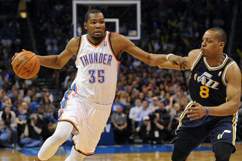 While the Thunder are vying for the first seed, the Jazz are battling for their playoff lives.