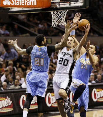 Both the Spurs and Nuggets have secured playoff spots.