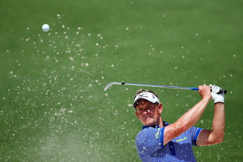 Luke Donald's short game will have to be very good for him to contend to win.