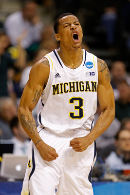 Trey Burke against VCU in the third round of the NCAA tournament.