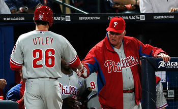 Utley is one of the best clutch hitters the Phillies have.