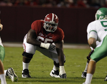 Chance Warmack is considered to be the best guard in the draft.