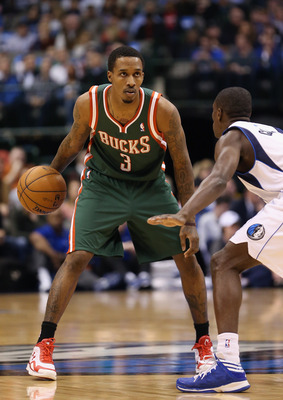 Brandon Jennings is averaging a career-high 6.7 assists.