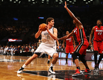 Brook Lopez is the Nets best answer for the Miami Heat.