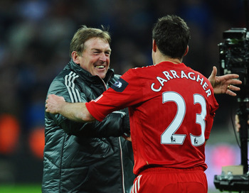 Carragher has played under some of the best managers in the game.