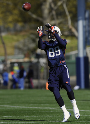 Jaylon Denson in first spring practice. Photo credit: Todd Van Emst / Auburn media relations