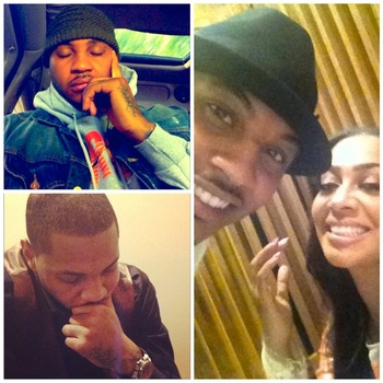 Images via @carmeloanthony [Instagram]