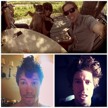 Images via @ShaunWhite [Instagram].