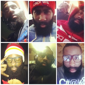 Images via @jharden13 [Instagram]