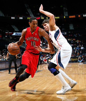 DeRozan has looked good the last couple of games.
