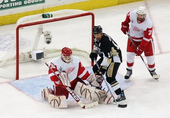 Gary Roberts in the 2008 Stanley Cup Finals