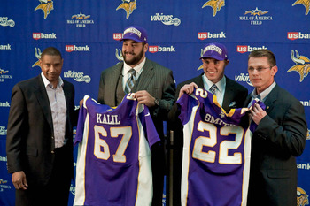 Rick Spielman and Leslie Frazier were wheeling and dealing in 2012.