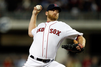 Ryan Dempster looked good for the second game in a row.