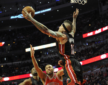 Chris Andersen has been soaring since he signed.