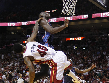 Udonis Haslem has never been afraid to throw his body around.