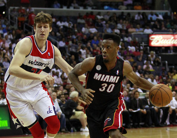 Norris Cole is the Heat's fastest player with the ball in his hands.