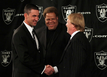 The Raiders could help their cause by trading down in first round.