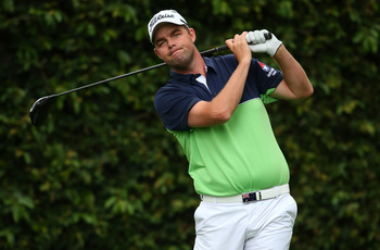 Marc Leishman is leading the Masters after one round.