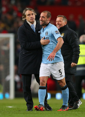 Pablo Zabaleta has become a key player for Roberto Mancini.