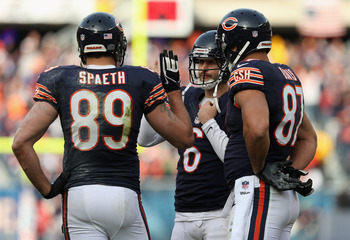 The Bears didn't get much production out of their tight ends in 2012.