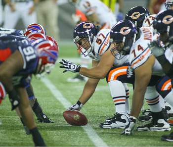 The Bears have not had consistent high-quality play at center since Olin Kreutz left the team.