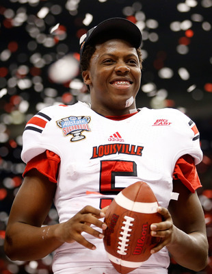 Louisville's Teddy Bridgewater is already picking up steam as one of the top signal callers for next year's Draft.