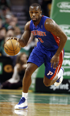 Rodney Stuckey took a step back this season for the Pistons.